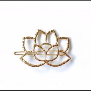 Sacred Lotus Hair Clip